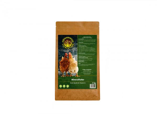 Mineralfutter Geflügel, 2,5 kg